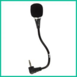 Low Price on 1x Mini 3.5mm Flexible Audio Microphone Mic For PC Laptop Notebook MSN Skype VOIP etc Free shipping