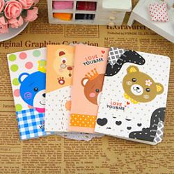 Low Price on Cartoon Bear Series Small Notebook(Random Color)