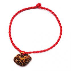 Low Price on China's Complex Classic Red String Bracelet with Chinese Characters